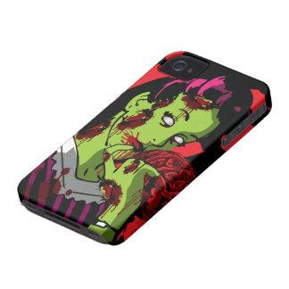 Zombie iPhone 4 Case Zombie Girl