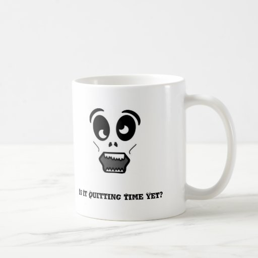 zombie, Is It Quitting Time Yet? Mug