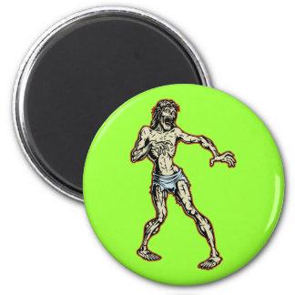Zombie Jesus 1 6 Cm Round Magnet