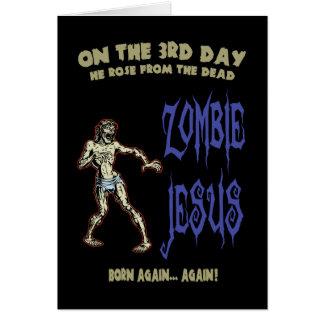 Zombie Jesus Card