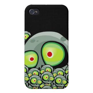 Zombie Jim Apocalypse iPhone 4 Skin iPhone 4 Cases