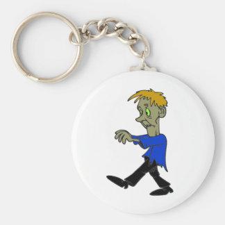 Zombie, Joe Zombie, Funny, Pet Zombie Keychain