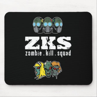 Zombie Kill Squad Mousepad