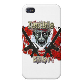 Zombie Killer 4 Cases For iPhone 4