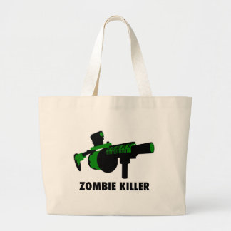 Zombie Killer Tote Bags