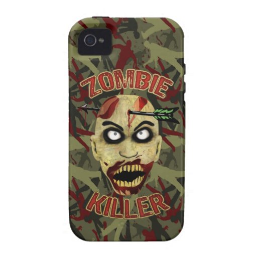 Zombie Killer Hunter Edition iPhone 4 Case