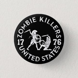 Zombie Killers 1776 3 Cm Round Badge