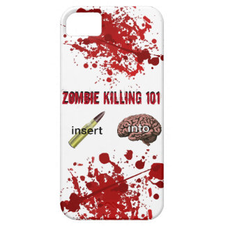 Zombie Killing 101 (insert bullet into brain) iPhone 5 Cases