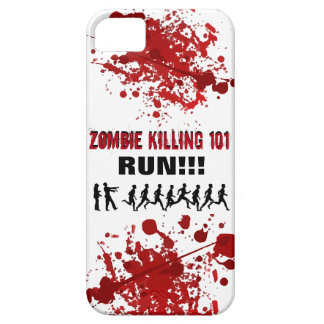 Zombie Killing 101 (RUN!!!) Barely There iPhone 5 Case
