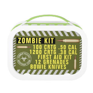 Zombie Kit Lunch Box