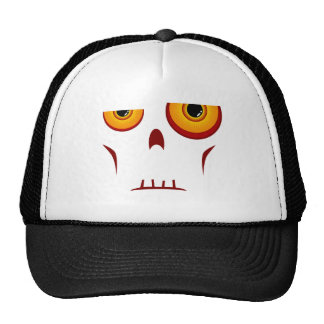 Zombie Long Face Trucker Hat