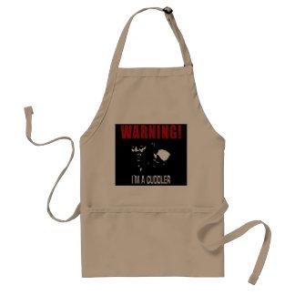Zombie love adult apron