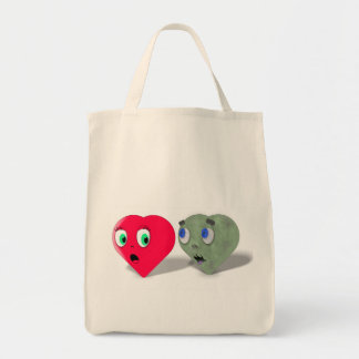 Zombie Love Grocery Bag Grocery Tote Bag