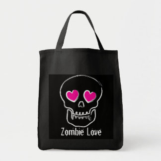 Zombie Love Grocery Tote Bag