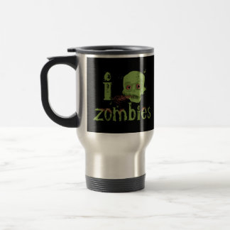 Zombie Love Travel Mug