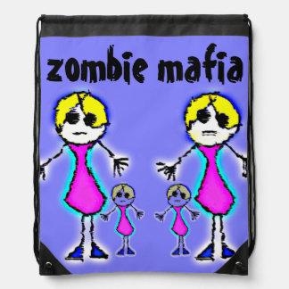 Zombie Mafia Cinch Bag