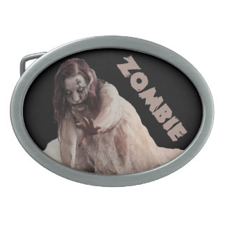 Zombie married belt buckle