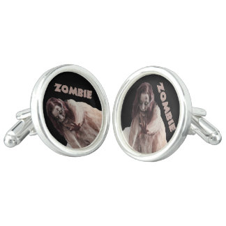 Zombie married cuff links