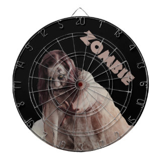 Zombie married dartboard