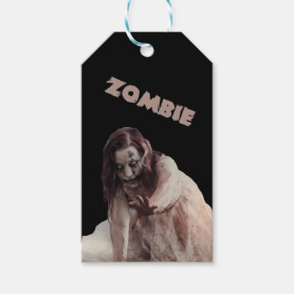 Zombie married gift tags