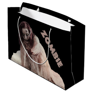 Zombie married large gift bag