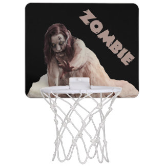 Zombie married mini basketball hoop
