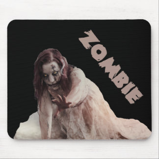 Zombie married mouse pad