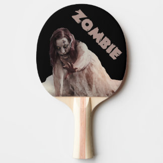 Zombie married ping pong paddle