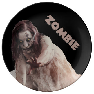 Zombie married plate