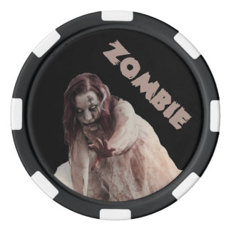 Zombie married poker chips