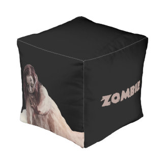 Zombie married pouf