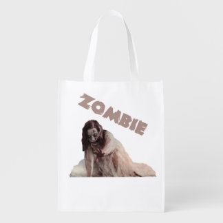 Zombie married reusable grocery bag