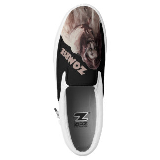 Zombie married slip on shoes