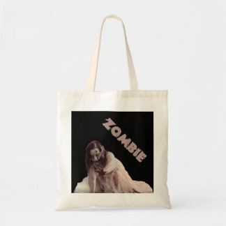 Zombie married tote bag