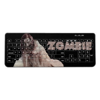 Zombie married wireless keyboard