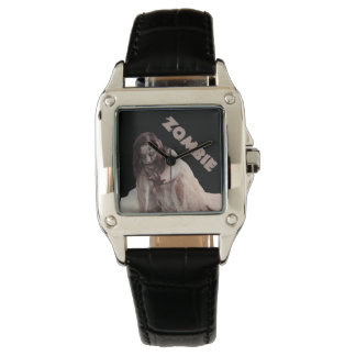 Zombie married wrist watch