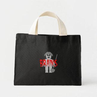 Zombie Minifig 'Brains', Mini Tote Bag