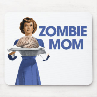 Zombie Mom Mousepads