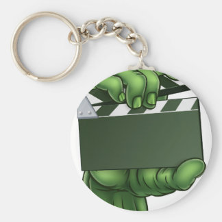 Zombie Monster Halloween Hand Key Ring