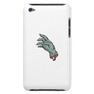 Zombie Monster Hand Drawing Barely There iPod Covers