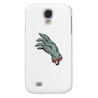 Zombie Monster Hand Drawing Samsung Galaxy S4 Cases