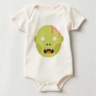 Zombie Monster Head Baby Bodysuit
