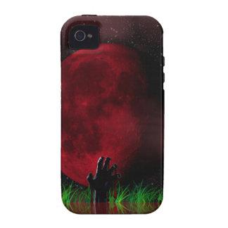 Zombie Moon iPhone 4 Cases