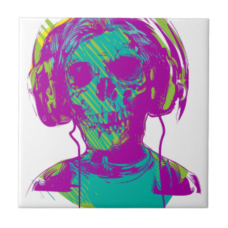 Zombie Music Ceramic Tile