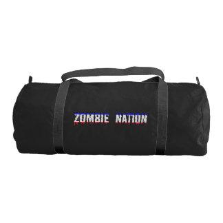 zombie nation gym duffel bag