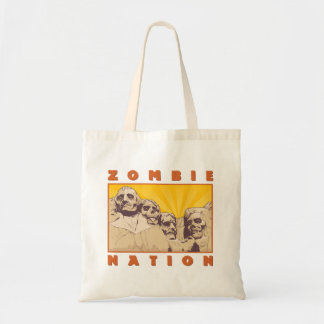 Zombie Nation Tote Bag--Nerdtastic Designs Budget Tote Bag