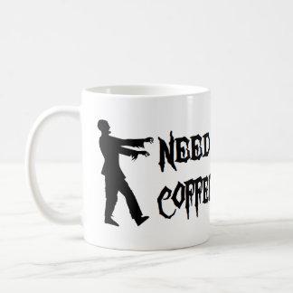 Zombie: Need Coffee Coffee Mug