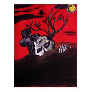 Zombie Night Postcard