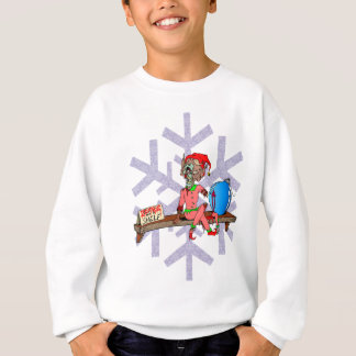 Zombie on a Shelf Sweatshirt