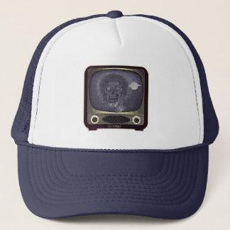 Zombie On TV - Gold Trucker Hat
